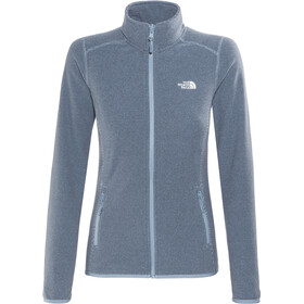 The North Face 100 Glacier Full Zip Dame provncl ble ste